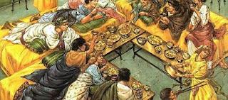 a tavola con gli antichi romani, abitudini e alimenti