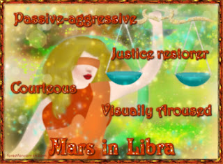 Description of Mars in Libra - Forest for Women