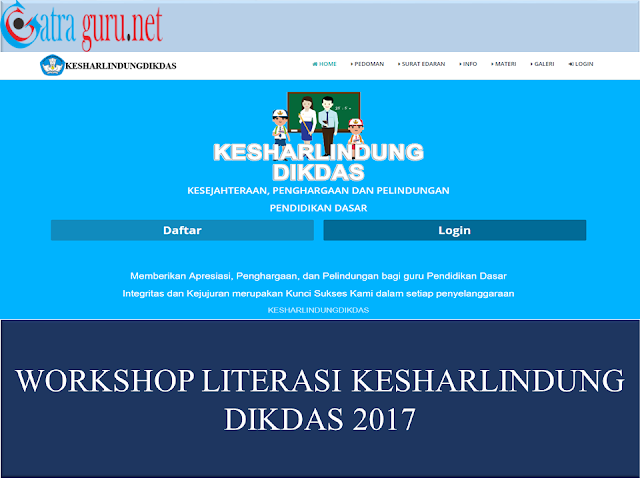 Workshop Literasi Kesharlindung Dikdas 2017