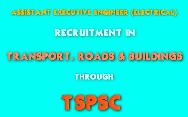 TSPSC-AEE-Transport-Roads-Buildings-Department-Recruitment