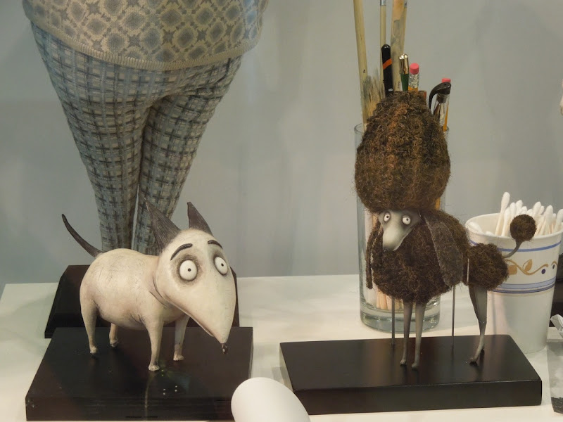 Sparky Persephone Frankenweenie puppets
