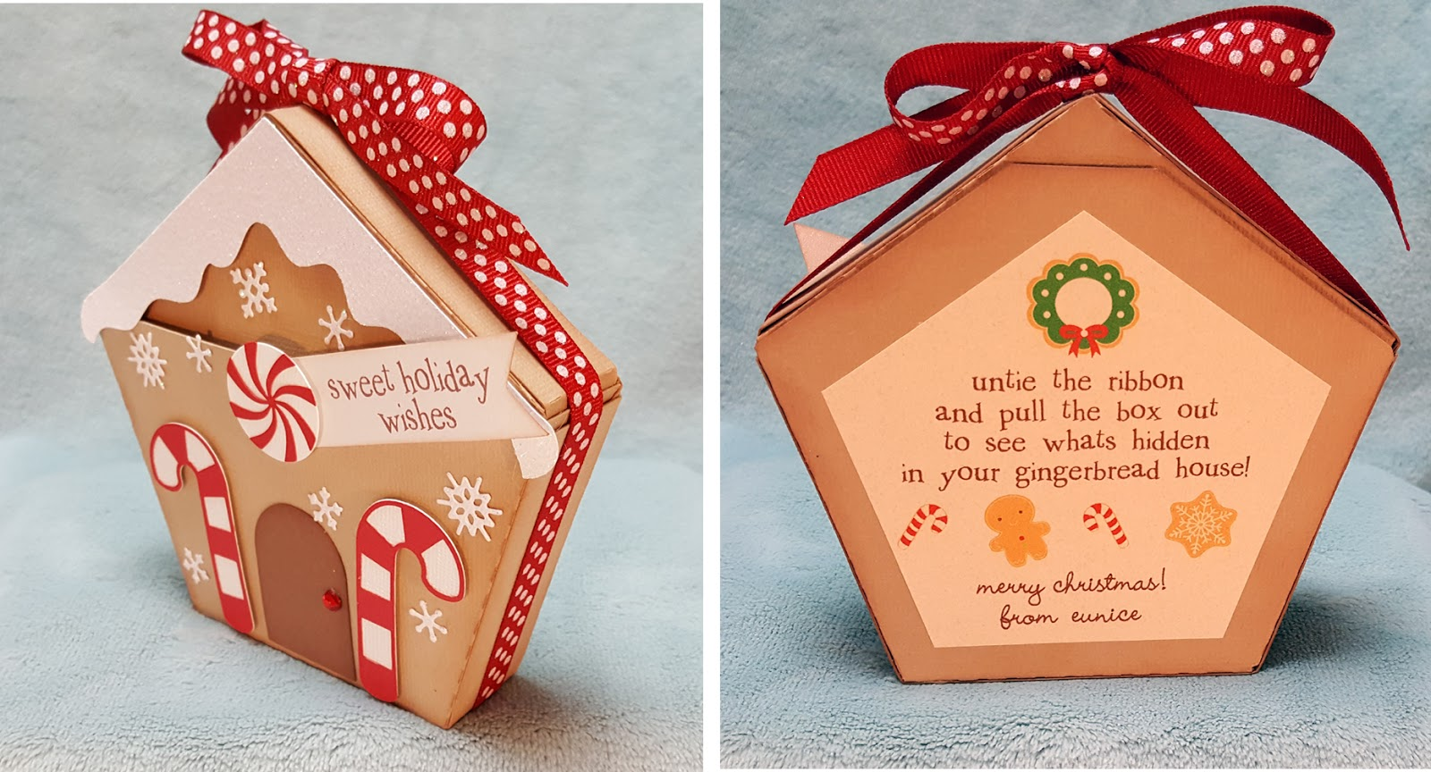 A Star For Chiemi Gingerbread House Gift Card Holders
