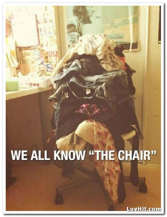We all know the chair