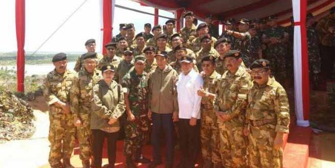 Kualitas Buntut, Latihan Perang di Natuna, Meriam Buatan China Tak Dipakai Lagi