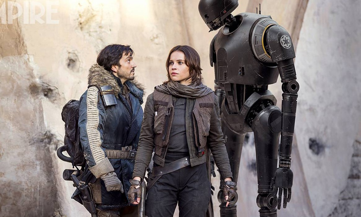 """Confira vídeo inédito dos bastidores, comerciais e pôsteres de """"Rogue One: Uma História Star Wars"""""""