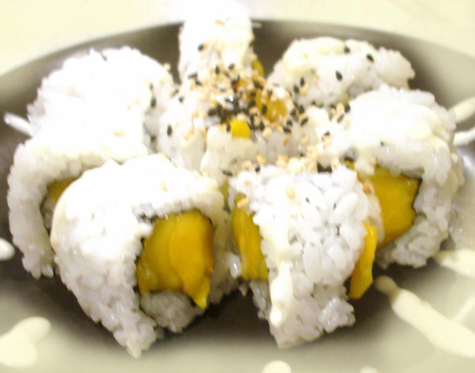 Mango Sushi Roll Recipe  U2014 Dishmaps