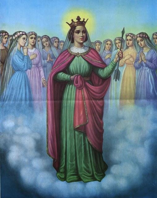 Resultado de imagem para santa úrsula e companheiras