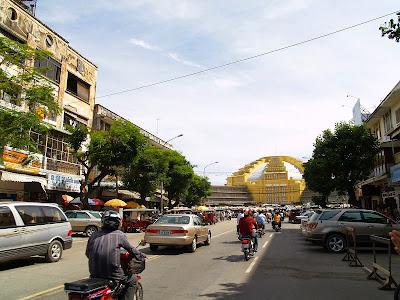 Chợ PhSa-Thmay (Chợ Mới) hay còn gọi là Central Market