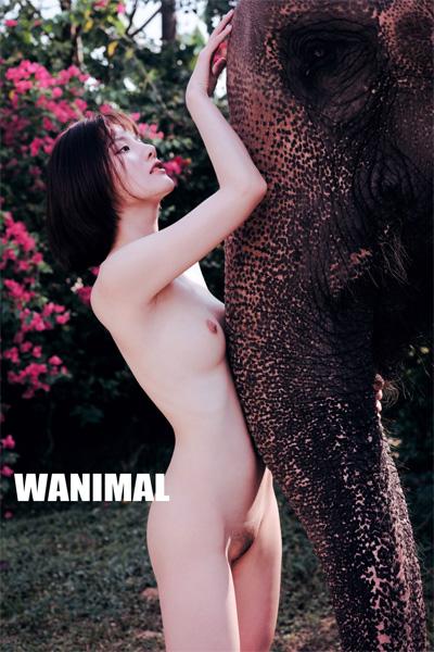 [WANIMAL王動系列] 2019年 名模阿朱 泰國旅拍VIP大尺度寫真 Set.01