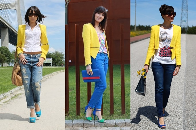 yellow jacket zara