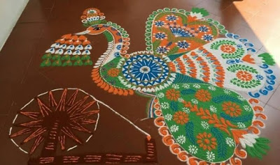 latest rangoli designs 2016