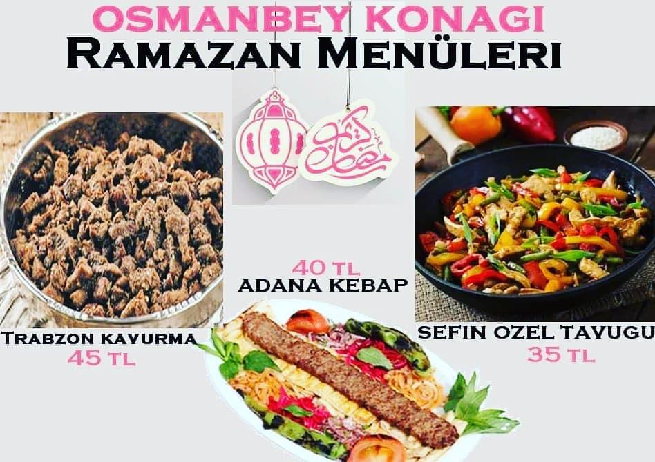 osman bey konağı hamamönü fiyatları ankara hamamönü iftar mekanları hamamönü ankara iftar menüsü