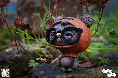 """GeekWok"" Ewok Star Wars Resin Figure by UME Toys"
