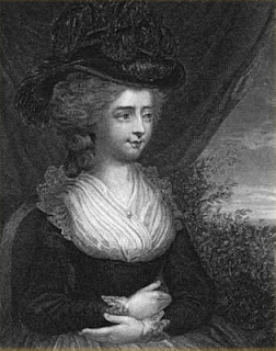 Fanny Burney, later Madame D'Arblay  Second Keeper of the Robes to Queen Charlotte  from Diary and Letters of Madame D'Arblay  1793-1812