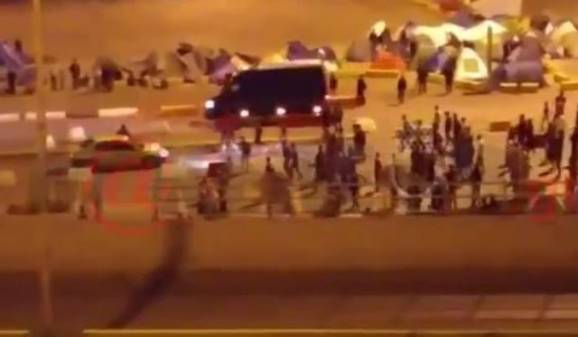 Λαθρομετανάστες επιτίθενται σε ταξιτζή στο λιμάνι του Πειραιά! Που κατάντησαν την πατρίδα μας;