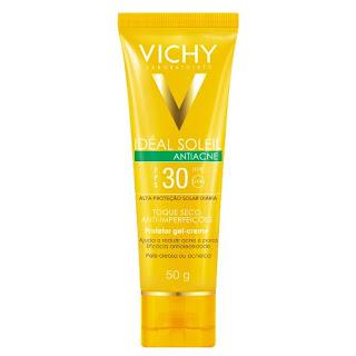 Protetor Solar Ideal Soleil Antiacne FPS 30 – Vichy