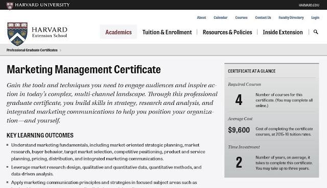 Obtén el certificado de Harvard en Dirección en Marketing digital