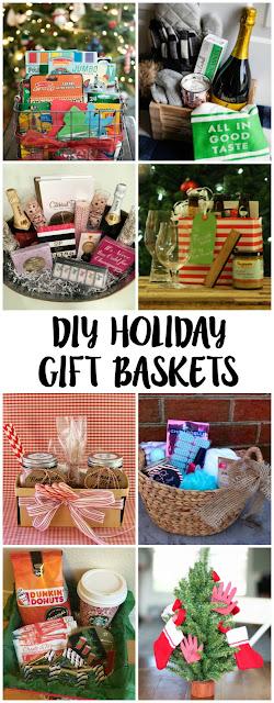 DIY Holiday Gift Basket Ideas & Tutorials