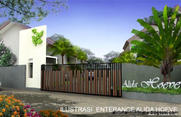 Gerbang Rumah Minimalis   Design Rumah Minimalis