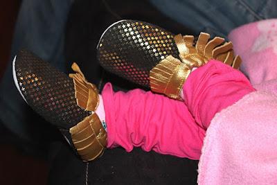 chaussons chic pour bébés