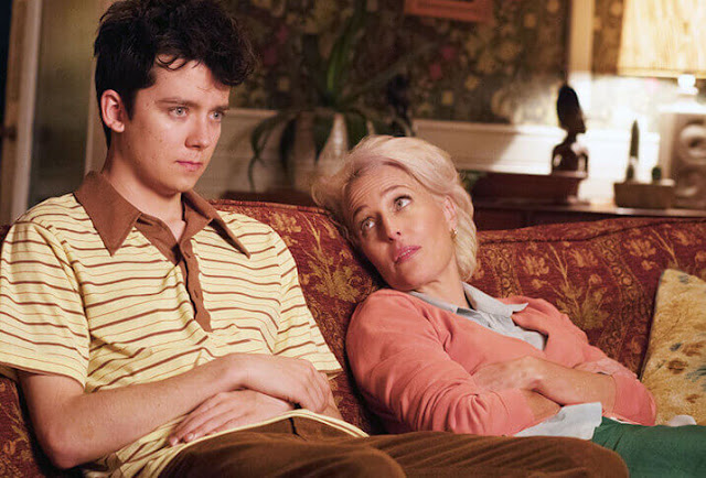 Sex Education, Gillian Anderson, Asa Butterfield