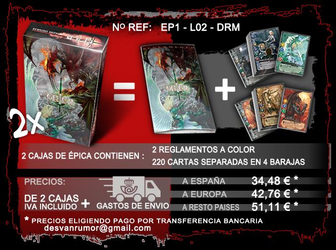 producto con ref: EP1-L02-DRM, pago por transferencia Bancaria
