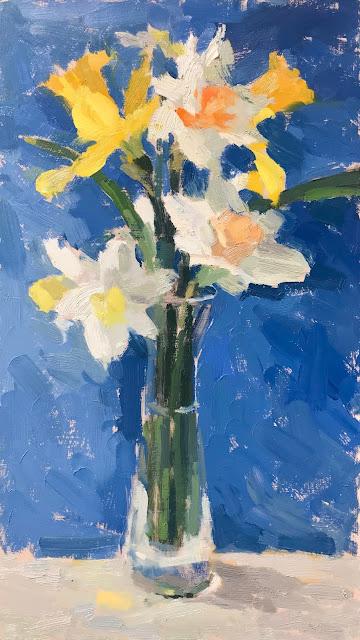 #325 'Daffodils & Narcissi' 8×14″