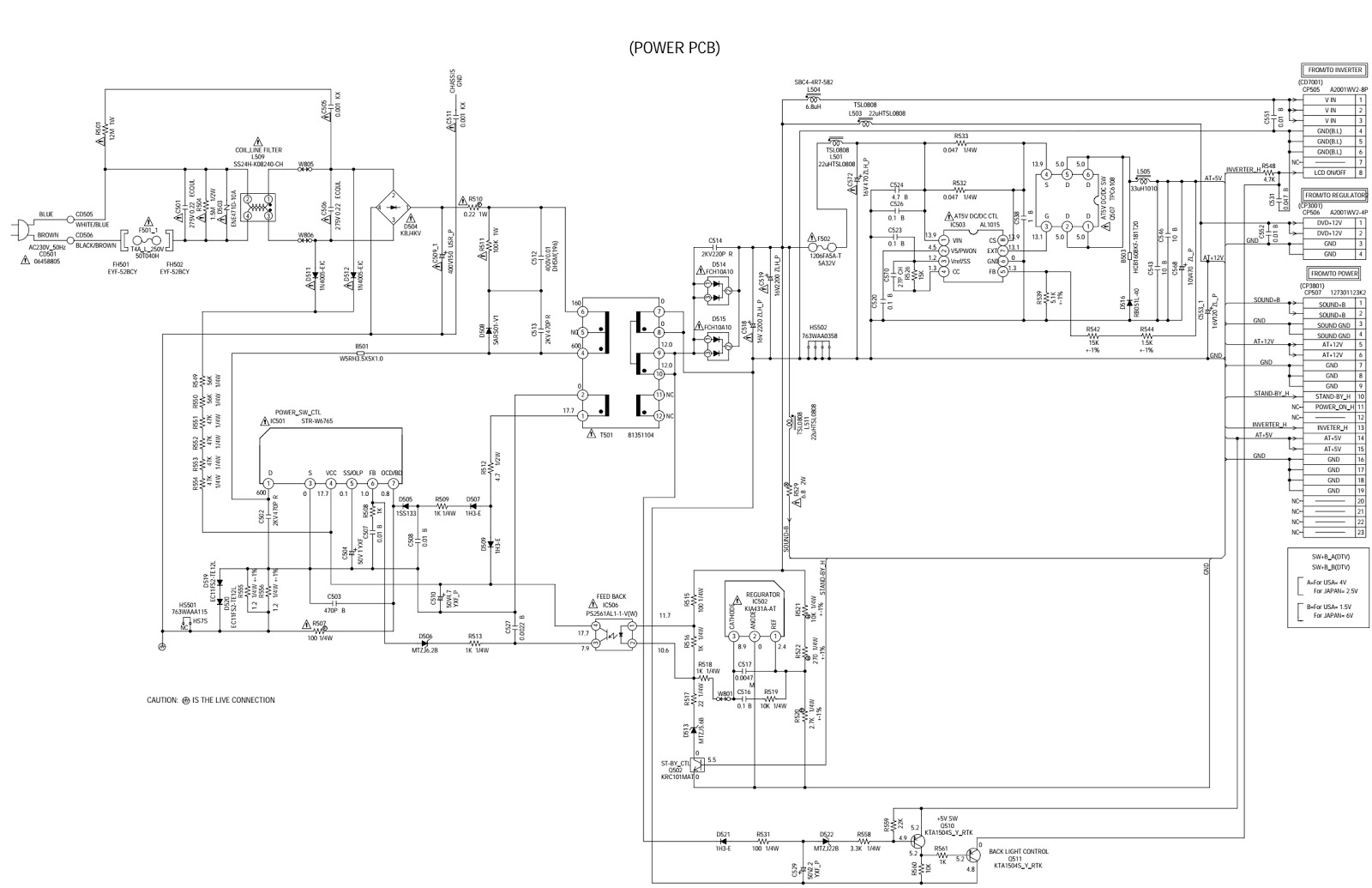 Electro Help 04 17 Smps Buck Converter Using 34063 Ic Electronic Circuit Diagrams Some Discs Are Specified As Not Suitable For Children Such Can Be Limited To Playback With The Unit 1 Press C Or D Select Parental