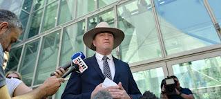 Barnaby Joyce,The Australian deputy prime minister resigned