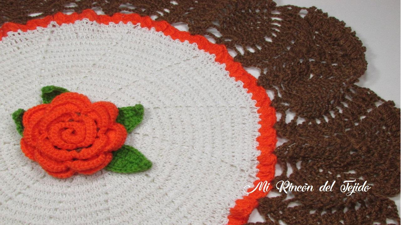 ❤ ✿ Mi Rincón del Tejido ✿ ❤: ¡Muy fácil! Carpeta tejida a crochet