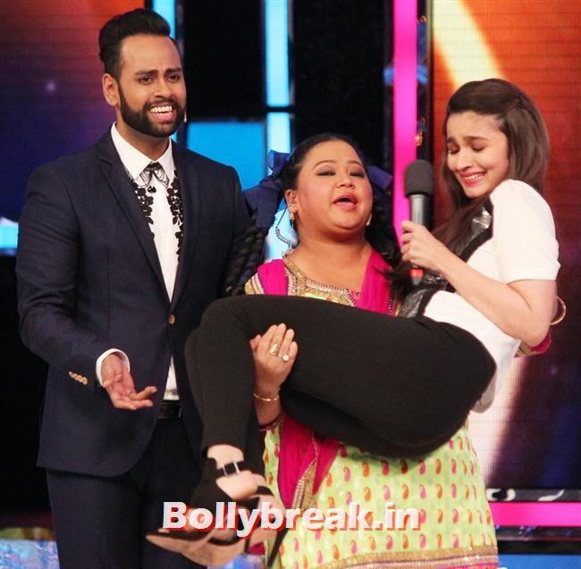 Bharti Singh picks Alia Bhatt, Alia Bhatt on India's Got talent