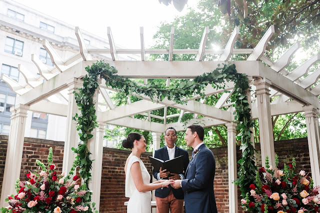 Washington DC Elopement at the DACOR Bacon House and Lincoln Memorial by Heather Ryan Photography