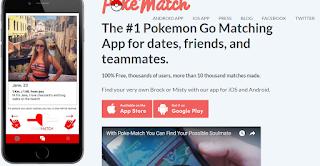 Aplikasi Kencan Online Untuk Pemain Game Pokemon Go
