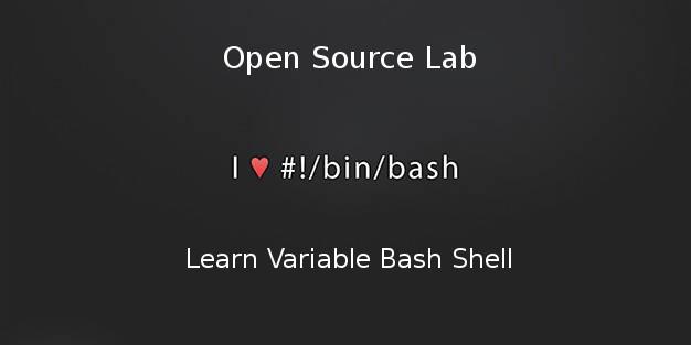 Mengenal Variable Pada Bahasa Pemrograman Bash Linux