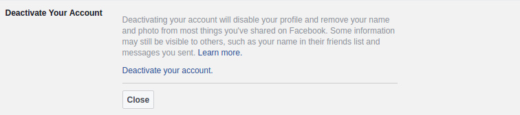 How To Delete Your Facebook account Permently