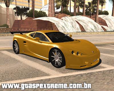 Ascari KZ1R Limited Edition 2008 para grand theft auto