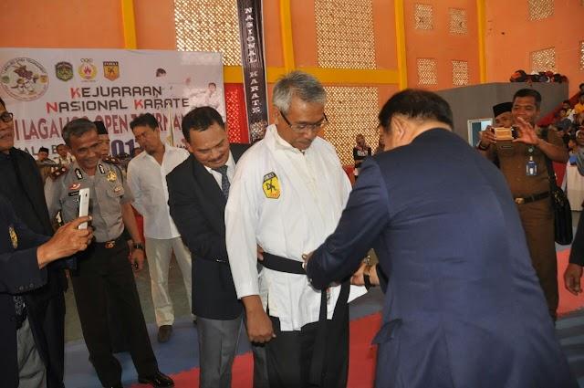 Forki Jadikan Lutim Sebagai Tuan Rumah Kejuaraan Karate Nasional