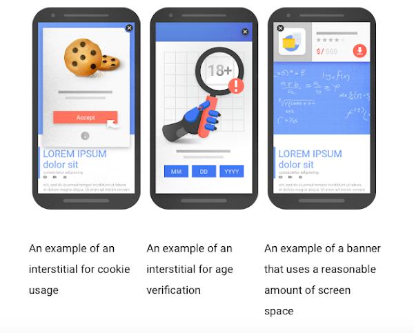 Google搜尋將改變演算法!自動跳出蓋版或插頁廣告的網站恐喪失優先排序