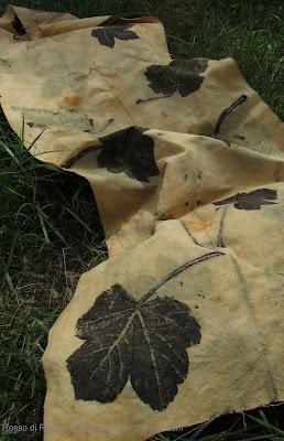 ecoprinting ecoprint canapa corsi tintura naturale corso