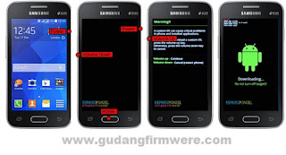 Cara Flash Samsung Galaxy SM-G313HZ