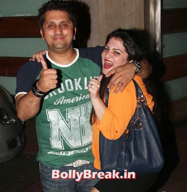 Mohit Suri, Ekta Kapoor Party Pics