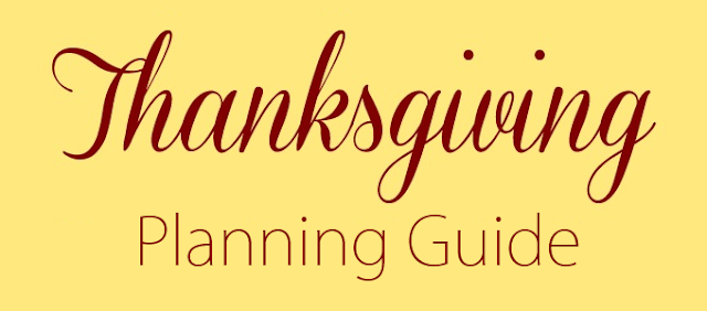 Thanksgiving Dinner Planning Guide