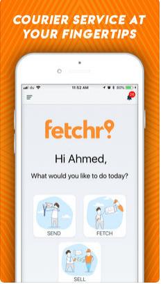 تحميل تطبيق fetchr