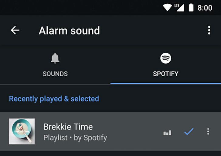 Goolge-Orologio-Spotify-Sveglia