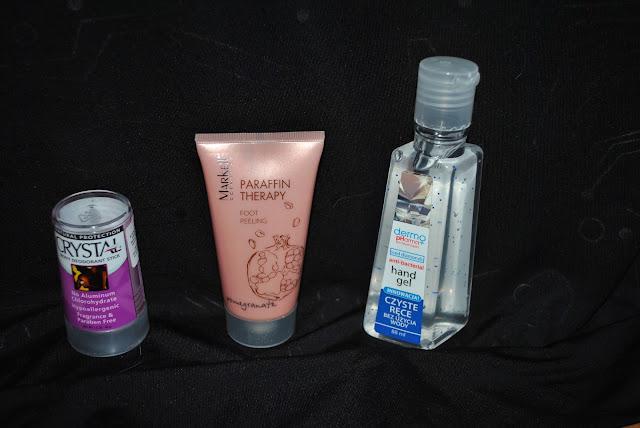 dezodorant bez aluminium, peeling do stóp z granatem, zel do raka antybakteryjny