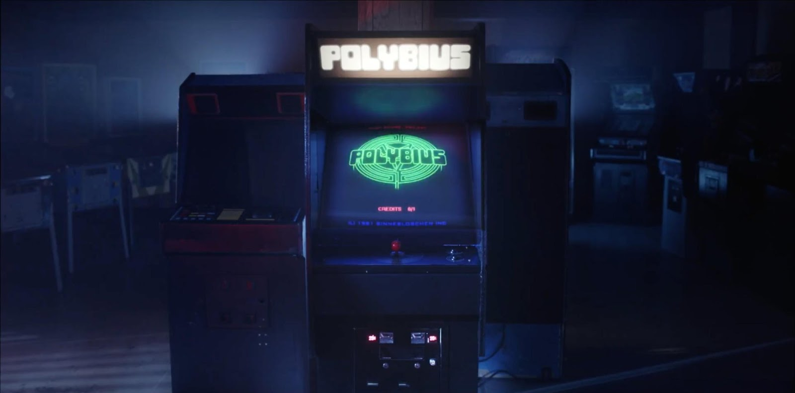 Le juego Polybius que da nombre al cuarto episodio de Dimension 404