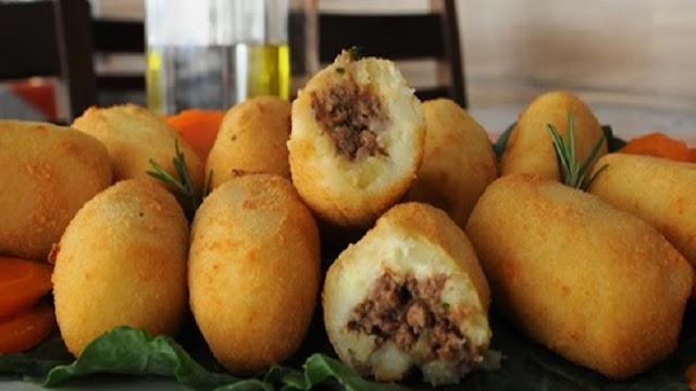 Bolinho de Batata com Carne Moída (Imagem: Reprodução/Xtudo Receitas)