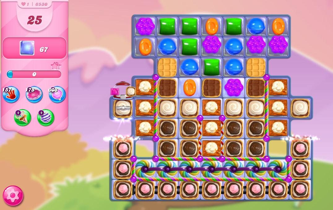 Candy Crush Saga level 6530