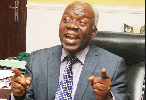 Falana Reacts To EFCC's Continued Detention Of Barr. Ubani Who Almost Died