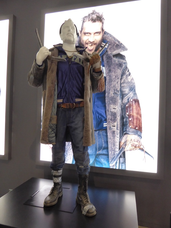 Jai Courtney Captain Boomerang costume Suicide Squad